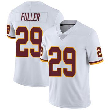 Youth Nike Washington Redskins Kendall Fuller White Vapor Untouchable Jersey - Limited