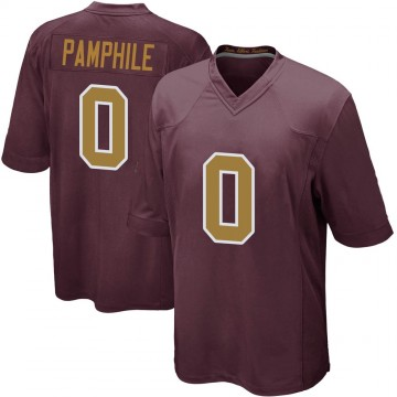 Youth Nike Washington Redskins Kevin Pamphile Burgundy Alternate Jersey - Game