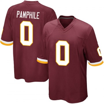 Youth Nike Washington Redskins Kevin Pamphile Burgundy Team Color Jersey - Game
