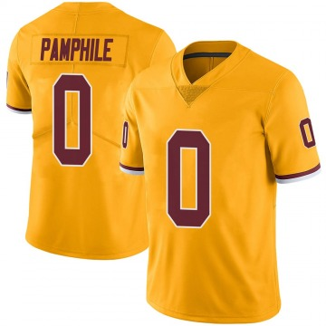 Youth Nike Washington Redskins Kevin Pamphile Gold Color Rush Jersey - Limited