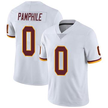 Youth Nike Washington Redskins Kevin Pamphile White Vapor Untouchable Jersey - Limited
