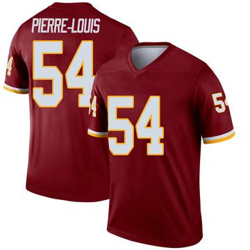 Youth Nike Washington Redskins Kevin Pierre-Louis Burgundy Jersey - Legend