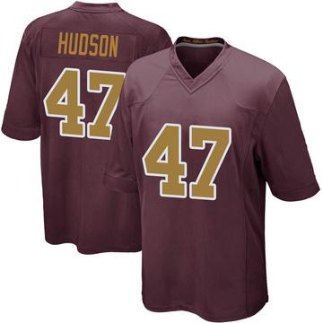 Youth Nike Washington Redskins Khaleke Hudson Burgundy Alternate Jersey - Game