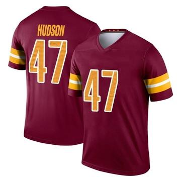 Youth Nike Washington Redskins Khaleke Hudson Burgundy Jersey - Legend