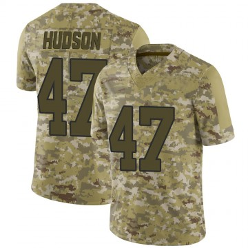 Youth Nike Washington Redskins Khaleke Hudson Camo 2018 Salute to Service Jersey - Limited