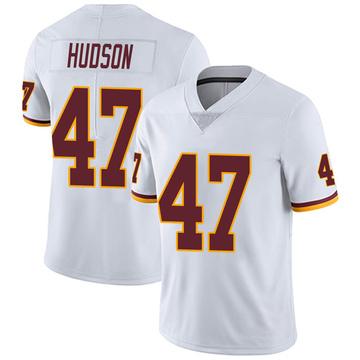 Youth Nike Washington Redskins Khaleke Hudson White Vapor Untouchable Jersey - Limited