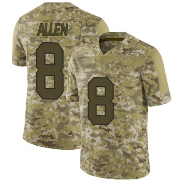 Youth Nike Washington Redskins Kyle Allen Camo 2018 Salute to Service Jersey - Limited