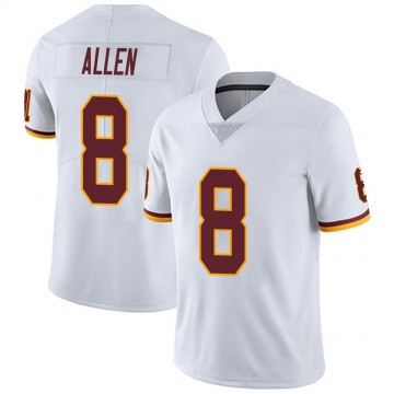Youth Nike Washington Redskins Kyle Allen White Vapor Untouchable Jersey - Limited