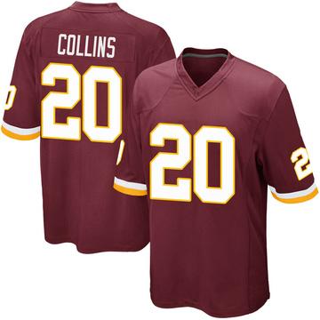 Youth Nike Washington Redskins Landon Collins Burgundy Team Color Jersey - Game