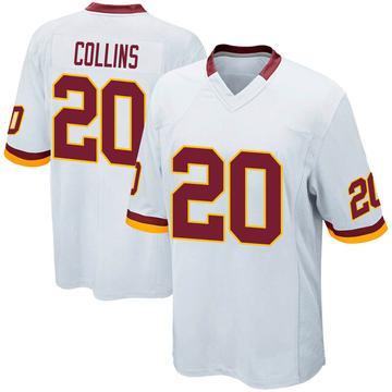 Youth Nike Washington Redskins Landon Collins White Jersey - Game