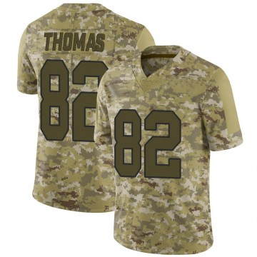 Youth Nike Washington Redskins Logan Thomas Camo 2018 Salute to Service Jersey - Limited