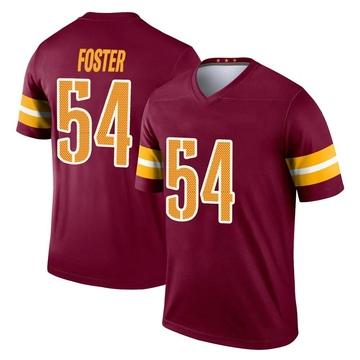 Youth Nike Washington Redskins Mason Foster Burgundy Jersey - Legend