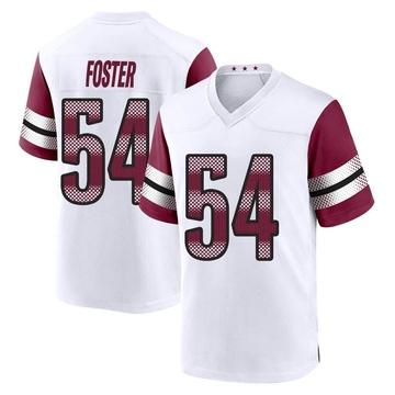 Youth Nike Washington Redskins Mason Foster White Jersey - Game