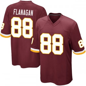 Youth Nike Washington Redskins Matt Flanagan Burgundy Team Color Jersey - Game