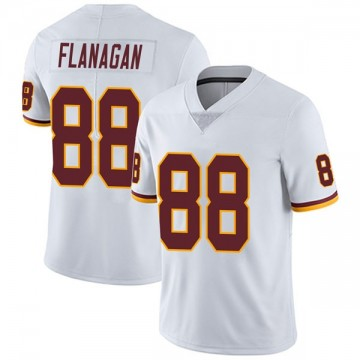 Youth Nike Washington Redskins Matt Flanagan White Vapor Untouchable Jersey - Limited