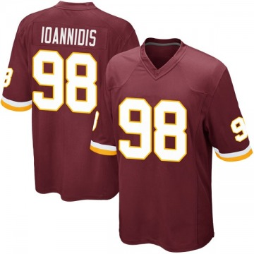 Youth Nike Washington Redskins Matt Ioannidis Burgundy Team Color Jersey - Game
