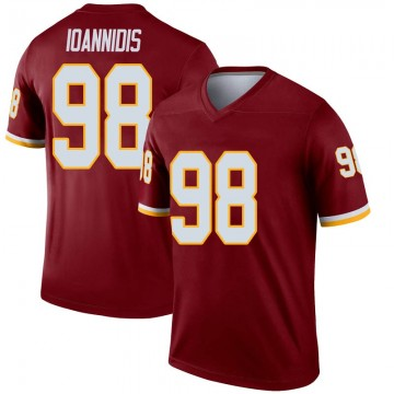 Youth Nike Washington Redskins Matt Ioannidis Inverted Burgundy Jersey - Legend