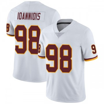 Youth Nike Washington Redskins Matt Ioannidis White Vapor Untouchable Jersey - Limited