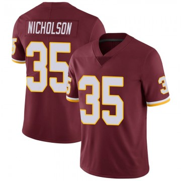 Youth Nike Washington Redskins Montae Nicholson Burgundy 100th Vapor Jersey - Limited