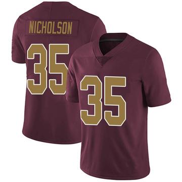 Youth Nike Washington Redskins Montae Nicholson Burgundy Alternate Vapor Untouchable Jersey - Limited