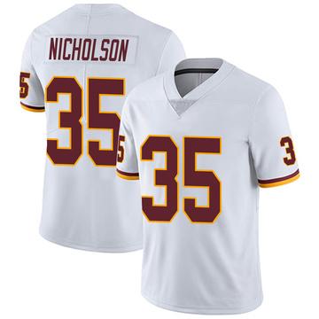 Youth Nike Washington Redskins Montae Nicholson White Vapor Untouchable Jersey - Limited