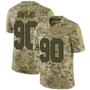 Youth Nike Washington Redskins Montez Sweat Camo 2018 Salute to Service Jersey - Limited