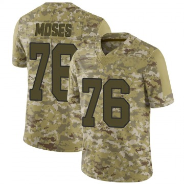 Youth Nike Washington Redskins Morgan Moses Camo 2018 Salute to Service Jersey - Limited