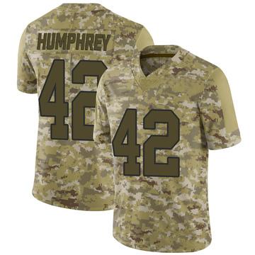 Youth Nike Washington Redskins Myles Humphrey Camo 2018 Salute to Service Jersey - Limited