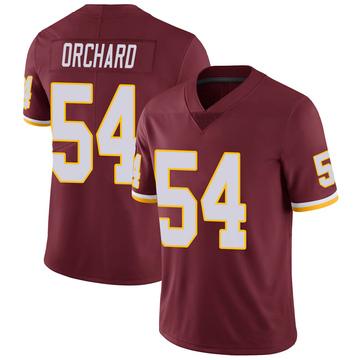 Youth Nike Washington Redskins Nate Orchard Burgundy 100th Vapor Jersey - Limited