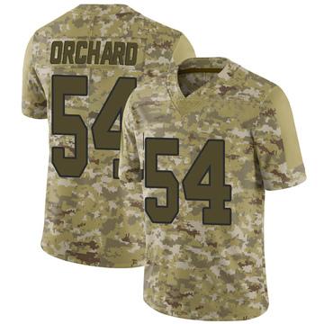 Youth Nike Washington Redskins Nate Orchard Camo 2018 Salute to Service Jersey - Limited
