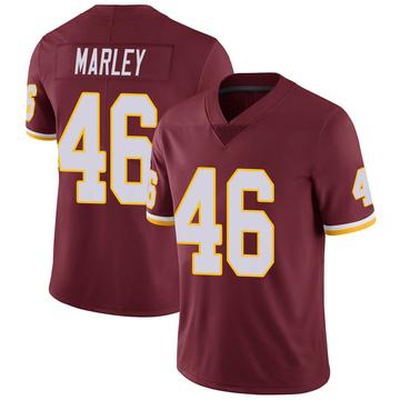 Youth Nike Washington Redskins Nico Marley Burgundy Team Color Vapor Untouchable Jersey - Limited