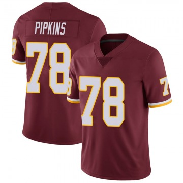 Youth Nike Washington Redskins Ondre Pipkins Burgundy 100th Vapor Jersey - Limited