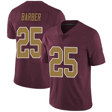 Youth Nike Washington Redskins Peyton Barber Burgundy Alternate Vapor Untouchable Jersey - Limited