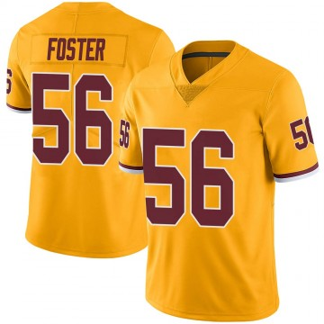 Youth Nike Washington Redskins Reuben Foster Gold Color Rush Jersey - Limited