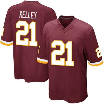 Youth Nike Washington Redskins Rob Kelley Burgundy Team Color Jersey - Game