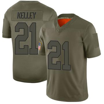 Youth Nike Washington Redskins Rob Kelley Camo 2019 Salute to Service Jersey - Limited