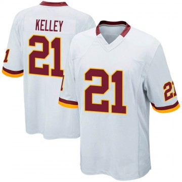 Youth Nike Washington Redskins Rob Kelley White Jersey - Game