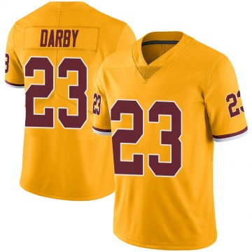 Youth Nike Washington Redskins Ronald Darby Gold Color Rush Jersey - Limited
