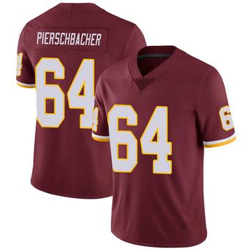 Youth Nike Washington Redskins Ross Pierschbacher Burgundy 100th Vapor Jersey - Limited