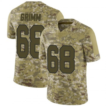 Youth Nike Washington Redskins Russ Grimm Camo 2018 Salute to Service Jersey - Limited