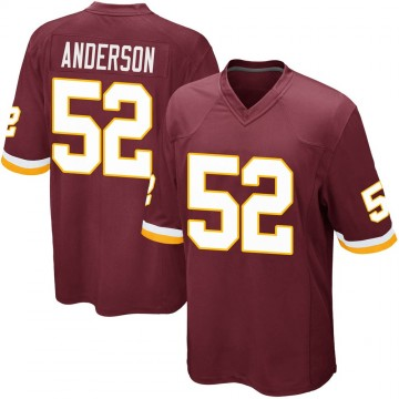 Youth Nike Washington Redskins Ryan Anderson Burgundy Team Color Jersey - Game