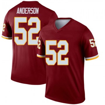 Youth Nike Washington Redskins Ryan Anderson Inverted Burgundy Jersey - Legend