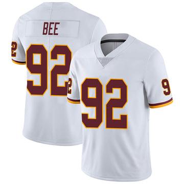 Youth Nike Washington Redskins Ryan Bee White Vapor Untouchable Jersey - Limited