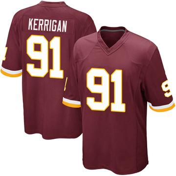 Youth Nike Washington Redskins Ryan Kerrigan Burgundy Team Color Jersey - Game
