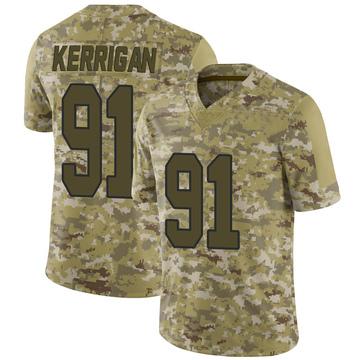 Youth Nike Washington Redskins Ryan Kerrigan Camo 2018 Salute to Service Jersey - Limited
