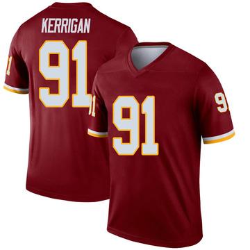Youth Nike Washington Redskins Ryan Kerrigan Inverted Burgundy Jersey - Legend