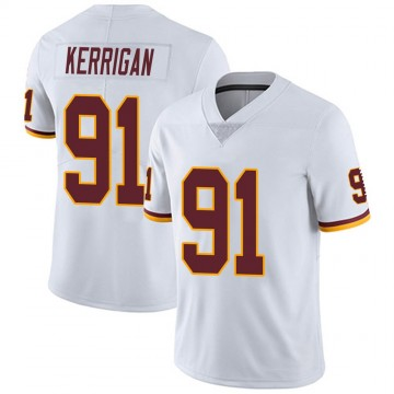Youth Nike Washington Redskins Ryan Kerrigan White Vapor Untouchable Jersey - Limited