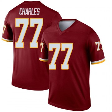 Youth Nike Washington Redskins Saahdiq Charles Burgundy Jersey - Legend