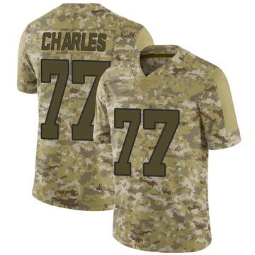 Youth Nike Washington Redskins Saahdiq Charles Camo 2018 Salute to Service Jersey - Limited