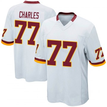 Youth Nike Washington Redskins Saahdiq Charles White Jersey - Game